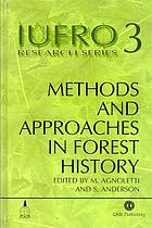 Methods and approaches in forest history