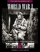 World War I : encyclopedia