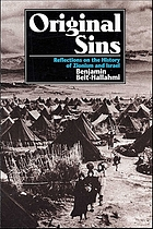 Original sins : reflections on the history of Zionism and Israel