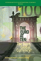The euro at ten : the next global currency?