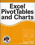 Excel PivotTables and charts