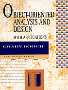 Object-oriented analysis and design with applications Object oriented design with applications