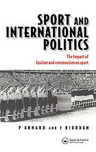 Sport and international politics