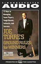Joe Torre's ground rules for winners