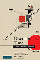 Discretionary time : a new measure of freedom