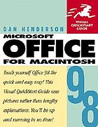 Microsoft Office 98 for Macintosh