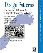Design patterns : elements of reusable object-oriented softwareEntwurfsmuster : Elemente wiederverwendbarer objektorientierter Software