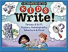 Kids write! : fantasy & sci fi, mystery, autobiography, adventure & more!