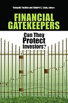Financial gatekeepers : can they protect investors?