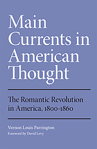 The romantic revolution in America, 1800-1860