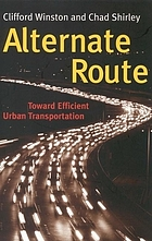 Alternate route : toward efficient urban transportation