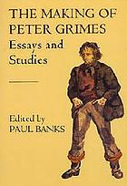 The making of Peter Grimes : [essays and studies] : notes and commentaries