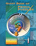 Giant book of pencil puzzles