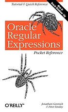 Oracle regular expressions : pocket reference