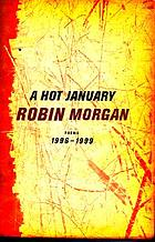A hot January : poems, 1996-1999