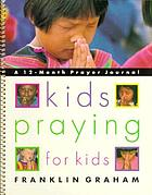 Kids praying for kids