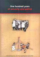 One hundred years of poverty and policy