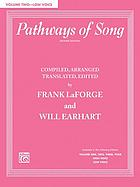 Pathways of song : low voice