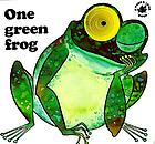 One green frog