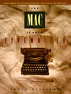 The Mac is not a typewriter : a style manual for creating professional-level type on your Macintosh