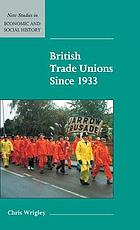 British trade unions since 1933