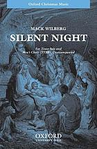 Silent night : solo, mixed chorus and piano