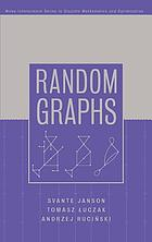 Theory of random graphs