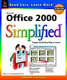 Microsoft Office 2000 simplified