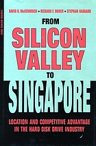 From Silicon Valley to Singapore : location and competitive advantage in the hard disk drive industry