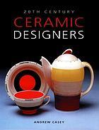 20th century ceramic designers in Britain