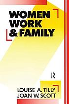 Women, work, and family