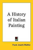 A history of Italian painting