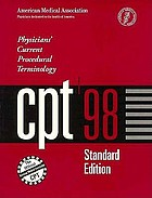 CPT '98 : physicians' current procedural terminology