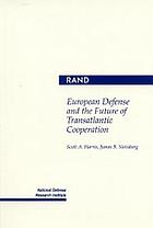 European defense and the future of transatlantic cooperation