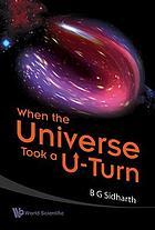 When the universe took a u-turn