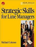 Strategic skills for line managers