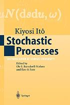 Stochastic processes : lectures given at Aarhus University