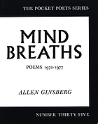Mind breaths : poems 1972-1977