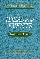 Ideas and events : professing history