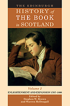 The Edinburgh history of the book in Scotland