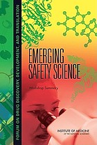 Emerging safety science workshop summary