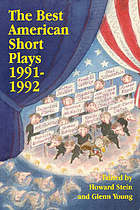 The Best American Short Plays, 1991-1992