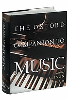The Oxford companion to music The Oxford companion to music