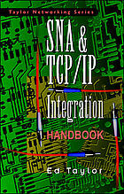 SNA and TCP/IP integration handbook
