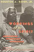 Workings of the spirit : the poetics of Afro-American women's writing