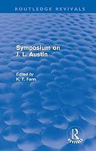 Symposium on J.L. Austin