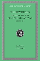 History of the Peloponnesian war. Books V and VI