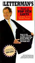 David Letterman's book of top ten lists and zesty lo-cal chicken recipes