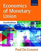 Economics of monetary unionThe economics of monetary integration