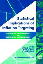 Statistical implications of inflation targeting : getting the right numbers and getting the numbers right